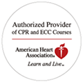 Authorized Provider of CPR and ECC Coursesロゴ